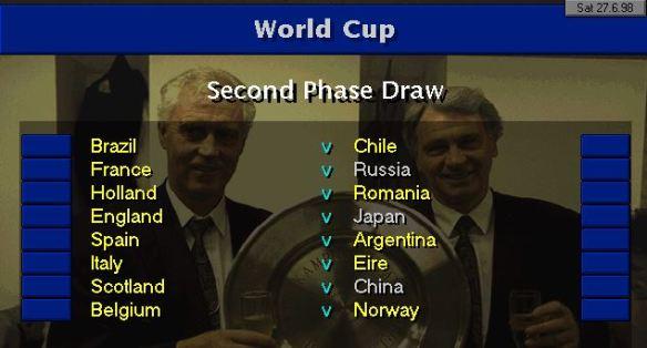 Last 16 draw