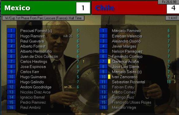 Mexico Chile HT