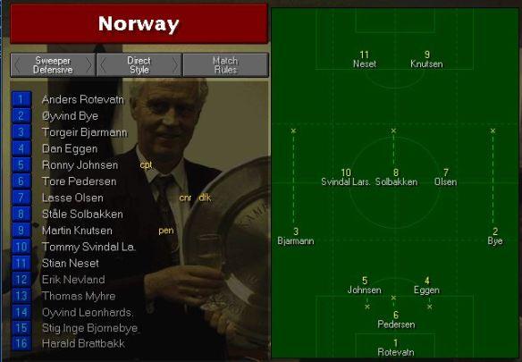 norway tactics vs belgium