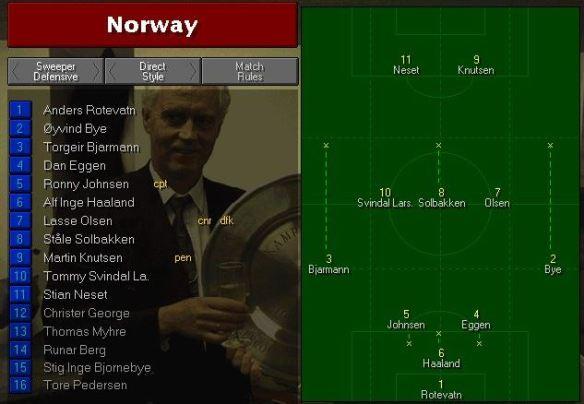 norway vs saudis