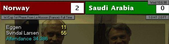 Noway Saudis FT