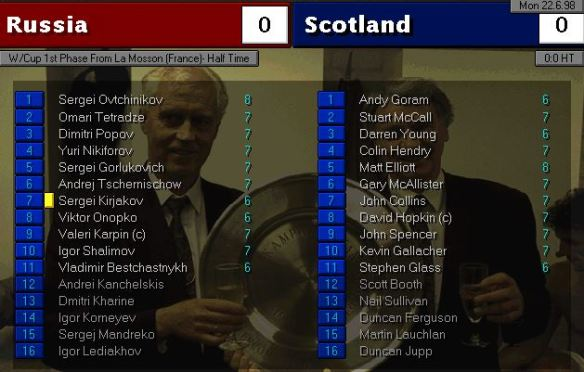 russia scotland HT ratings