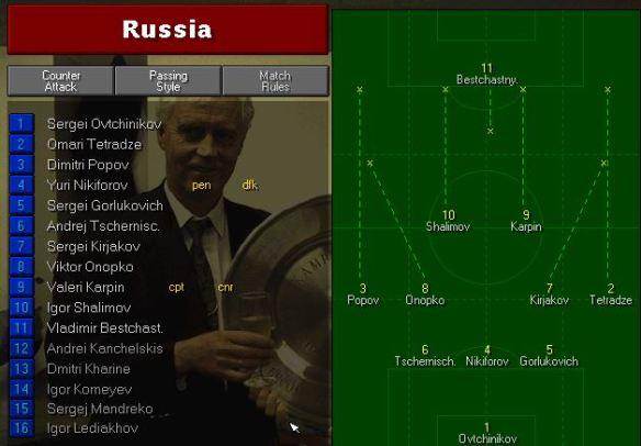 russia tactics vs scotland