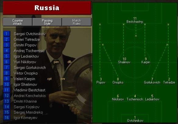 Russia vs Nigeria Tactics
