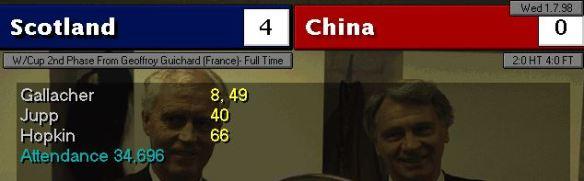 scotland china scoreboard