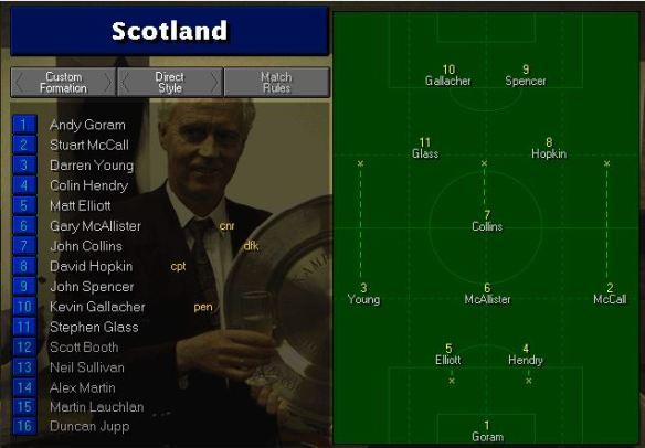 scotland tactics vs Jamaica