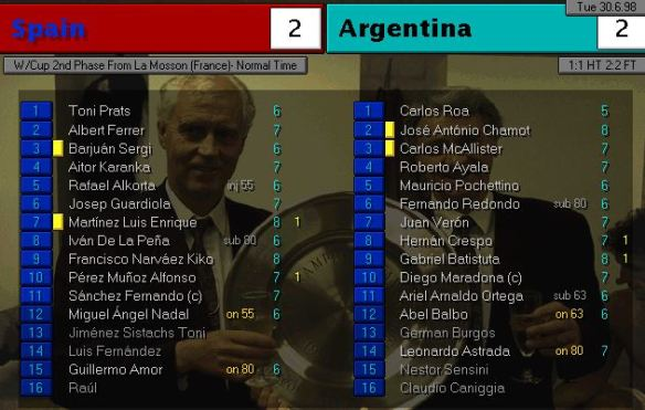 spain argentina FT ratings