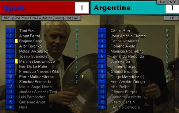 spain argentina HT ratings