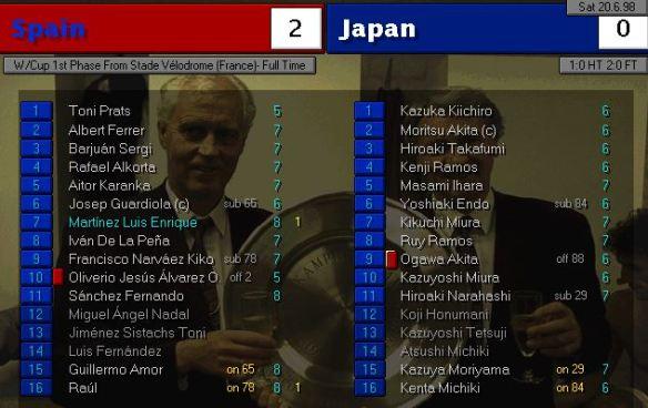 spain japan FT ratings