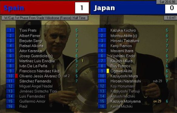 spain japan HT ratings