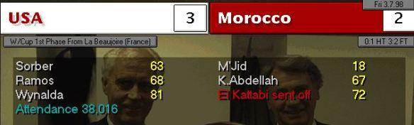 USA Morocco