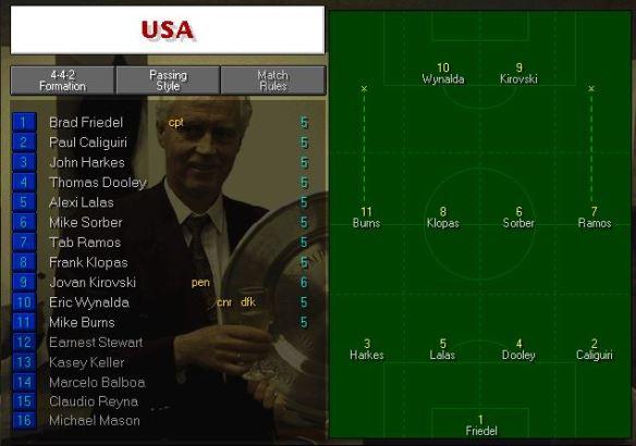 USA vs france tactics