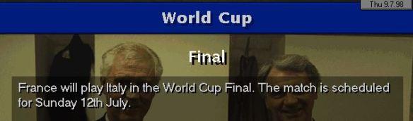 WC final