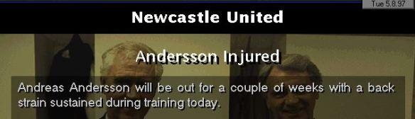 AA injury