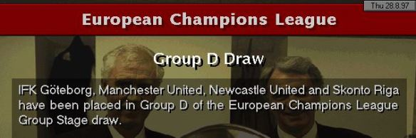 CL group draw