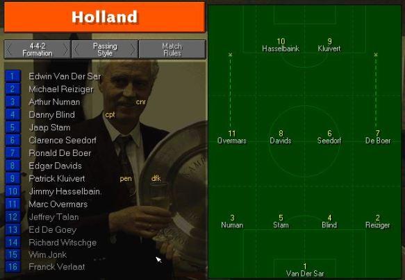 Holland tactics