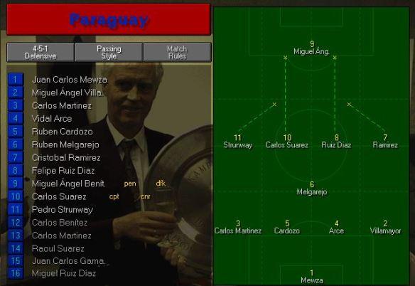 paraguay tactics vs italy