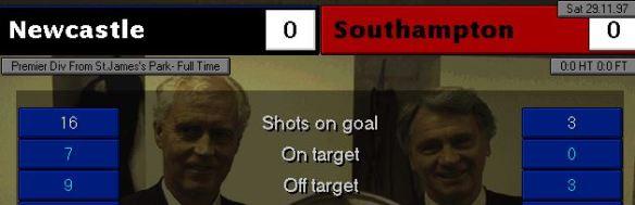 0-0 soton
