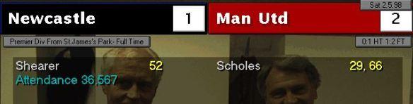 2-1 man utd home