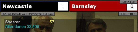 4th round Barnsley