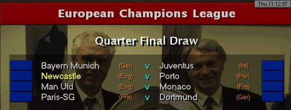 CL QF draw