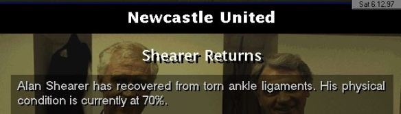 shearer returns