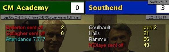 0-3 southend