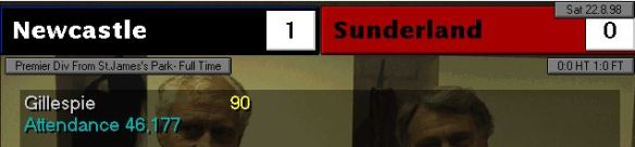 1-0 gillespie