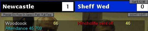 1-0 sheff wed