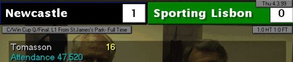 1-0 sporting lisbon