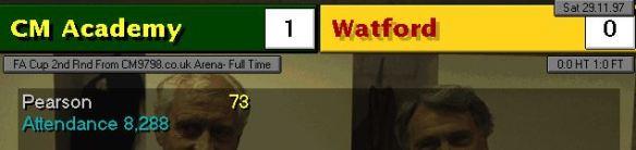 1-0 watford