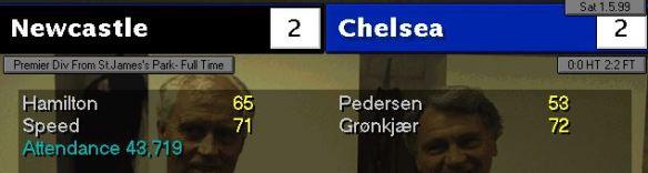 2-2 Chelsea