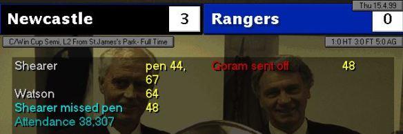 3-0 rangers