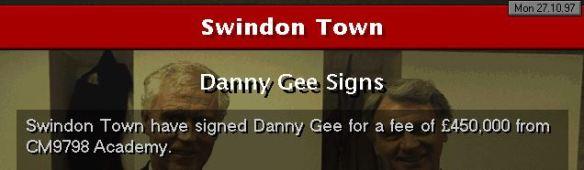 Gee to Swindon