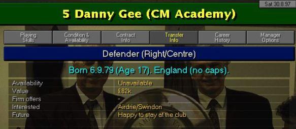 Gee transfer
