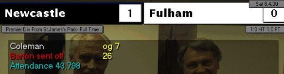 1-0 fulham