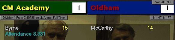 1-1 oldham