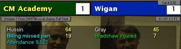 1-1 wigan