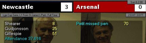 3-0 arsenal