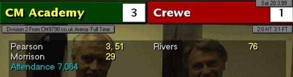 3-1 crewe