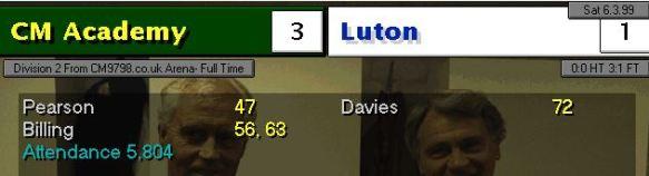 3-1 luton