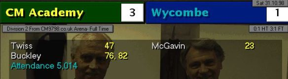 3-1 wycombe