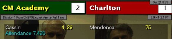 charlton 2-1