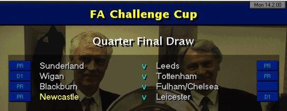 FA QF Draw