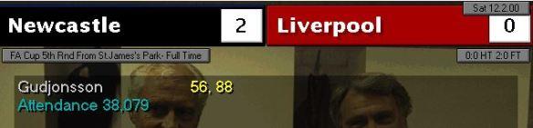 Liverpool 2-0 FA
