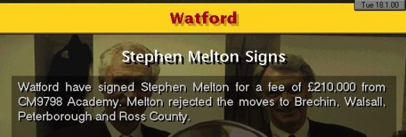 melton leaves