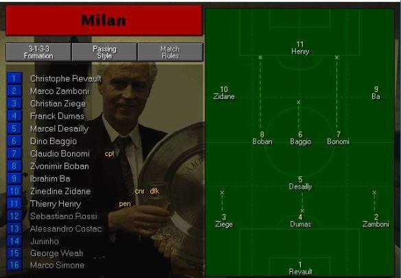 milan team