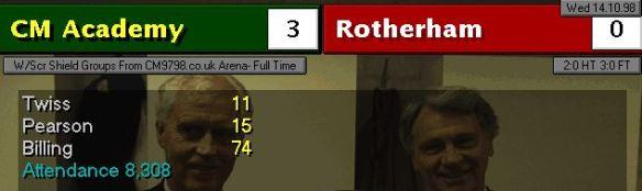 Rothrham 3-0