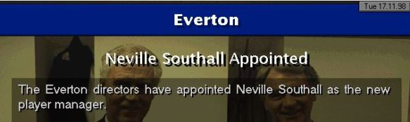 southall player manager