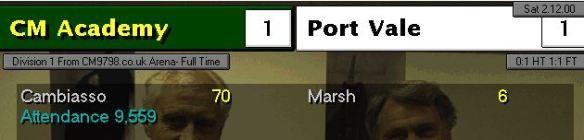 1-1 port vale